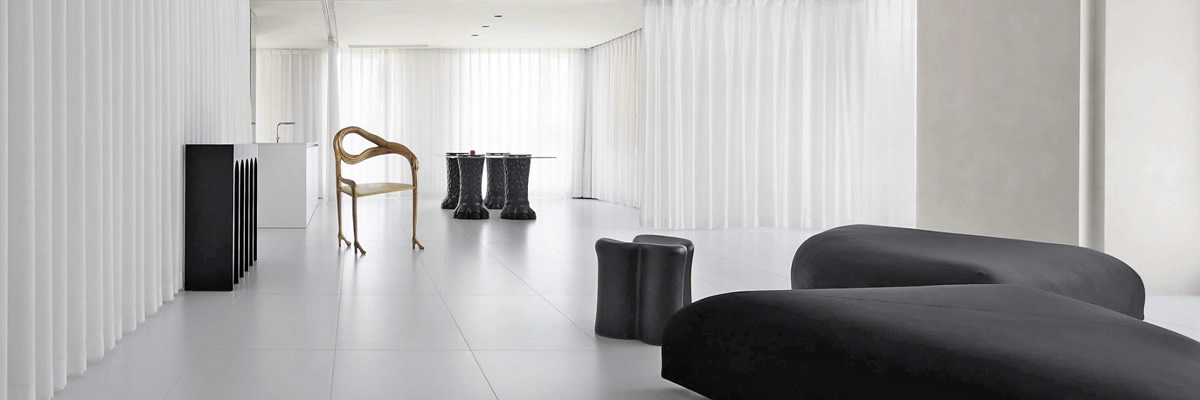 【案例】艺术展 Ultra White 超白砖地板砖